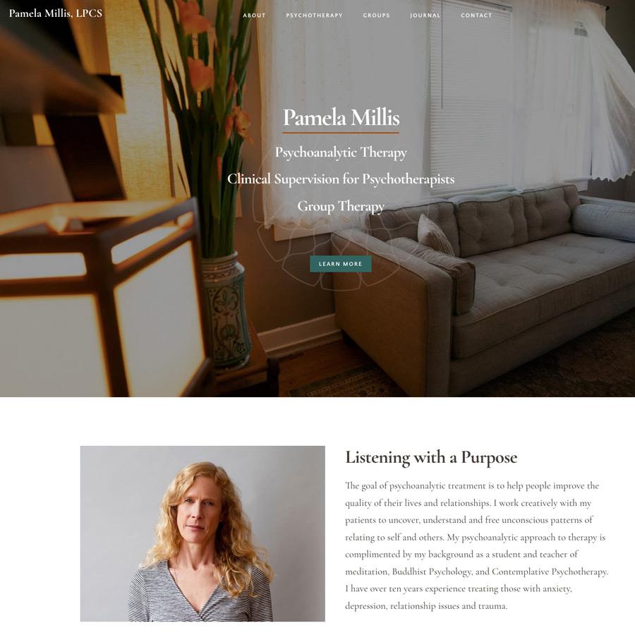 Pamela Millis Asheville Psychotherapist